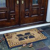 NCAA Team Door Mat-Colleges M-Z