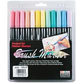 Uchida Brush Art Marker Set - 12/Pastel
