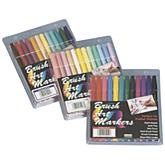 Uchida Brush Art Marker Set - 12/Basic