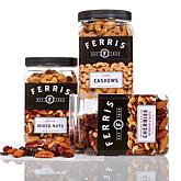 Ferris Company Salted and Roasted Mixed Nut Variety Pack - (3) 1 lb. Jars