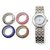 Colleen Lopez  Gem Dial Interchangeable Bezel  Watch