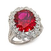 Jean Dousset 9.48ct Absolute™ and Created Ruby Ring