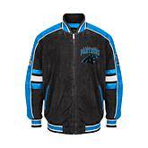 Officially Licensed NFL Colorblocked Suede Jacket by GIII