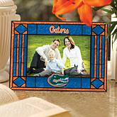 College Sports Team Art Glass Horizontal Picture Frame