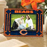 NFL Sports Team Art Glass Horizontal Picture Frame