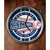 MLB Chrome Clock