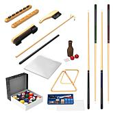 32-piece Billiards Accessory Kit for your Pool Table