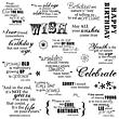 Quote Clear Stamps - Make a Wish