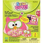 Sew Cute Craft Box Kit - 2 Owls