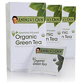 Andrew's Own Jasmine Infused Organic Green Tea