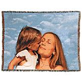 "Concierge Collection Personalized Woven 100% Cotton 54"" x 70"" Photo Blanket"