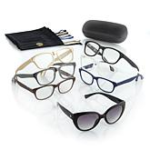 JOY 15-piece Couture SHADES Readers with Smart Lenses and Designer Frames - Classic