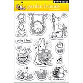 Penny Black Clear Stamps Sheet   Garden Friends
