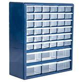 Trademark Tools Deluxe 42-Drawer Compartment Storage Box