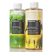 Korres Vanilla Guava and Basil Lemon Shower Gel Duo
