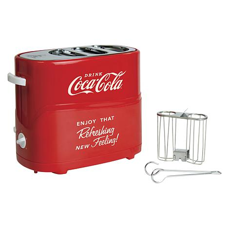 Nostalgia Electrics Coca-Cola Hot Dog Toaster