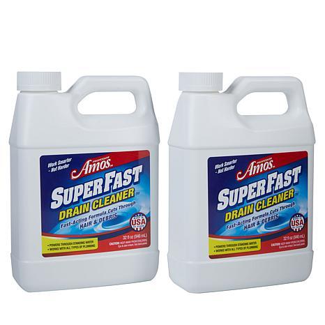 32 Fl Oz Superfast Drain Cleaner 2 Pack Hsn