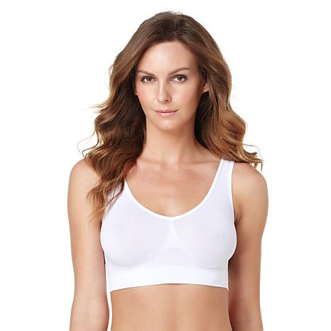 "Rhonda Shear 2-pack ""Ahh"" Seamless Leisure Bra"