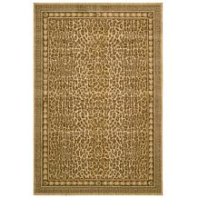 Andrea Stark Home Collection Leopard 100% Wool Rug