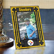 Art Glass Team Photo Frame - Pittsburgh Steelers - NFL
