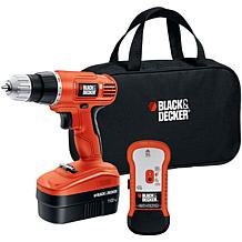 Black & Decker® 18V Cordless Drill and Stud Kit