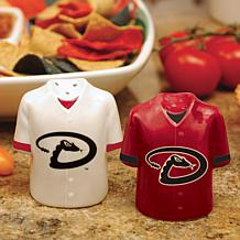 Ceramic Salt and Pepper Shakers - Arizona Diamondbacks