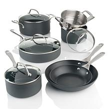 Curtis Stone HardStuff Hard Anodized 11pc Cookware Set