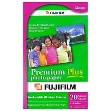 "Fuijifilm Premium Plus 4"" x 6"" Photo Paper Bundle"