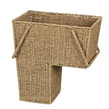 Household Essentials Stair Basket with Handles