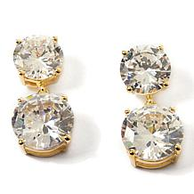 "Joan Boyce ""Glitzerland"" 35.10ct Clear CZ Drop Earrings"