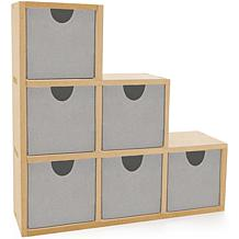 "Kaisercraft ""Beyond the Page"" MDF Bookend Drawers"