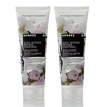 Korres Apple Blossom Body Butter Hydrating Duo
