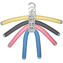 Luxury Living Bumps Be-Gone Hangers - Assorted Colors