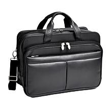 McKleinUSA Leather Expandable Briefcase