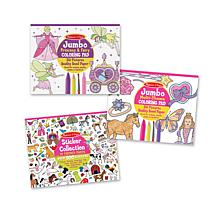 Melissa & Doug Girls Activity Bundle