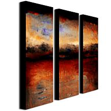 "Michelle Calkins ""Red Skies at Night"" Giclée-Print Set"