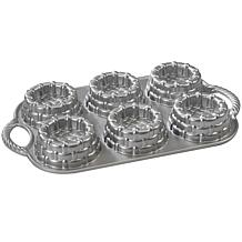 Nordic Ware Shortcake Baskets Pan - Cast Aluminum