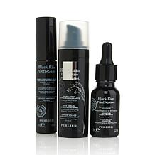 Perlier Black Rice Platinum 3-piece Face and Eye Kit
