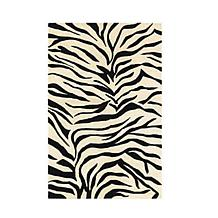 Rizzy Home Craft Black and White Hand-Tufted Rug