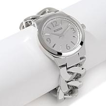 R.J. Graziano Luxury Class Curb Link Bracelet Watch