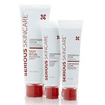 Serious Skincare Continuously Clear Trio Adult AS