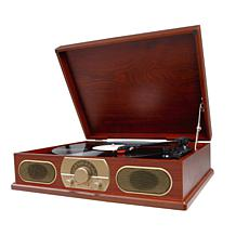 Studebaker Wooden Cabinet Turntable with AM/FM Radio