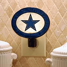 Team Glass Nightlight - Dallas Cowboys