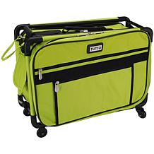 TUTTO Machine On Wheels Case - Lime