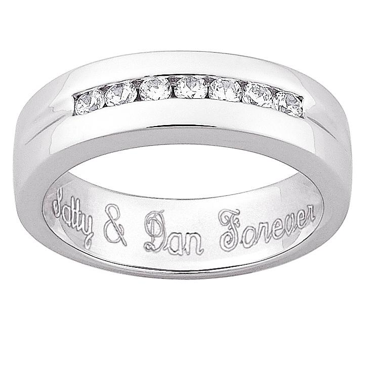 Ideas For Engraving Mens Wedding Band