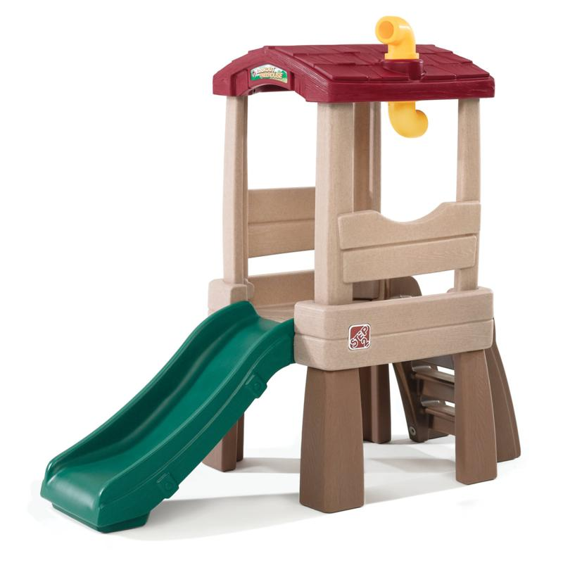 "Naturally Playful Lookout Treehouse Discover the adventures as little explorers climb, slide and spy with the Step2 Lookout Treehouse. It has a spacious 19"" ( cm) /5()."